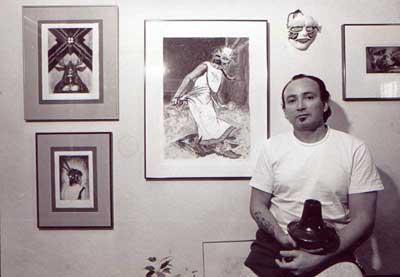 Yermo Aranda in studio